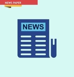NEWS-PAPER vector