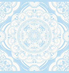 spring floral seamless pattern provence style vector image
