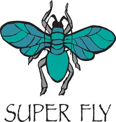 Super Fly vector