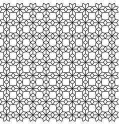 black japanese seamless on white background vector image vector image