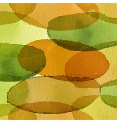 Seamless artistic design watercolor stain pattern vector image