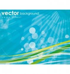 aqua elements background vector image