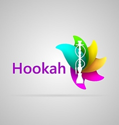 Colorful for hookah vector image vector image