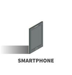 smartphone icon symbol vector image