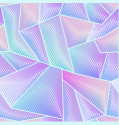 Abstract hologram geometric pattern vector