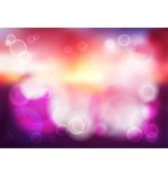 Bokeh blur romantic purple backdrop vector image