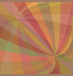 Double curved ray burst background - design from vector