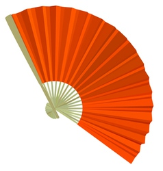 traditional Folding Fans vector image