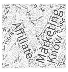 What You Need to Know About Affiliate Marketing vector