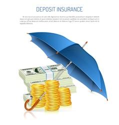 Deposit Insurance vector image