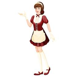 A housemaid vector