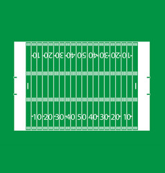 American football field background court soccer vector