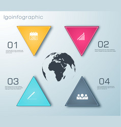 business web infographics vector image