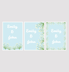 cute flat style dandelion on blue background vector image