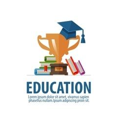 Education logo design template school vector