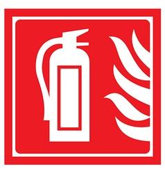 Fire-extinguisher vector