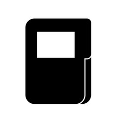 folder document isolated icon vector image
