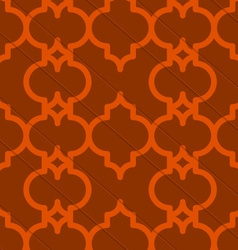 Retro 3d brown marrakech vector