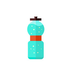 sport bottle with water isolated on white vector image