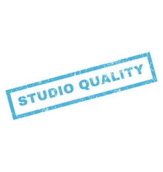 Studio Quality Rubber Stamp vector