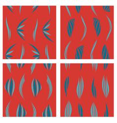 tribal background ethnic pattern set boho vector image