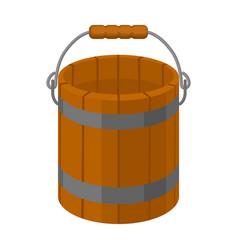 Bucket iconcartoon icon isolated on vector