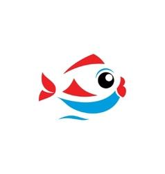 Fish sign vector