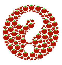 Query composition of tomato vector