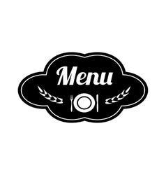 Restaurant logo design vector