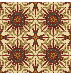 Seamless Vajra tibetan pattern vector