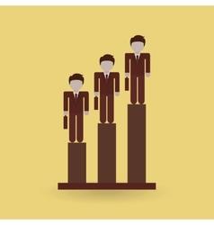 successful businessman design vector image