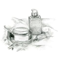 The creams vector image