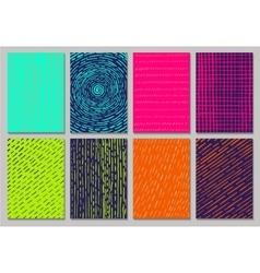 Creative cards vector