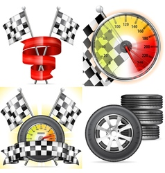 Racing Concepts vector image