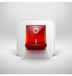 On Off switch vector image