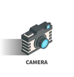 camera icon symbol vector image