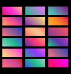 collection soft color background gradient vector image