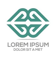 Icon love couple design symbol vector