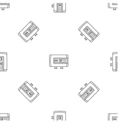 modern boiler icon outline style vector image