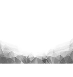 Monochrome triangle vector