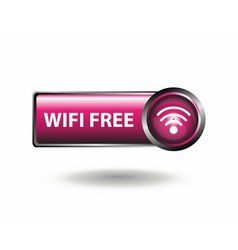 Square Free Wifi Available Here vector