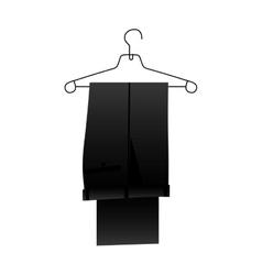 Suit pants icon image vector