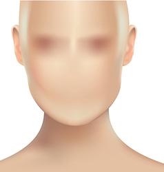 Womans face vector
