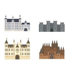 Castle cartoon vector image vector image