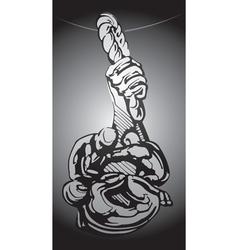 suspension grunge vector image vector image