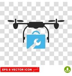 Service Drone Eps Icon vector image