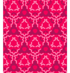 abstract geometric red pink seamless pattern vector image
