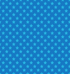Blue seamless pattern with stars vector image