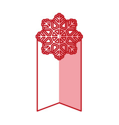christmas shopping label vector image