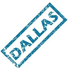Dallas rubber stamp vector image